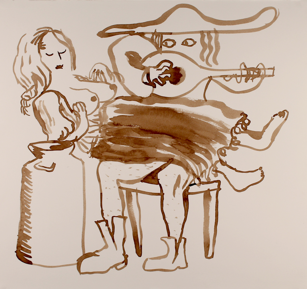 Milkmaid and Musician, 2015