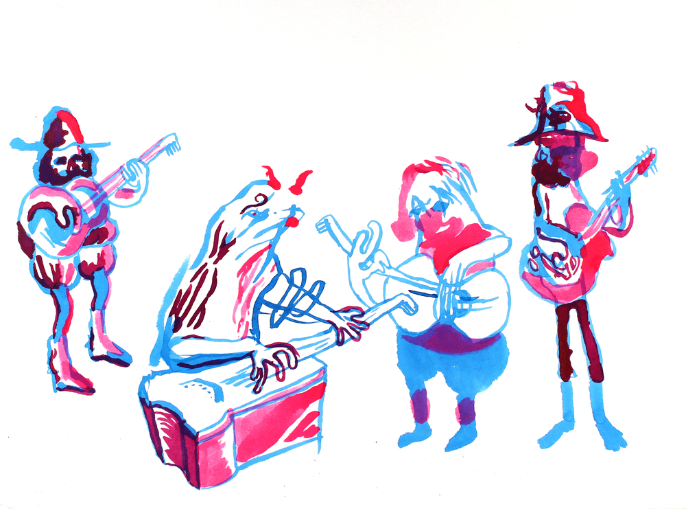Band Study, 2015