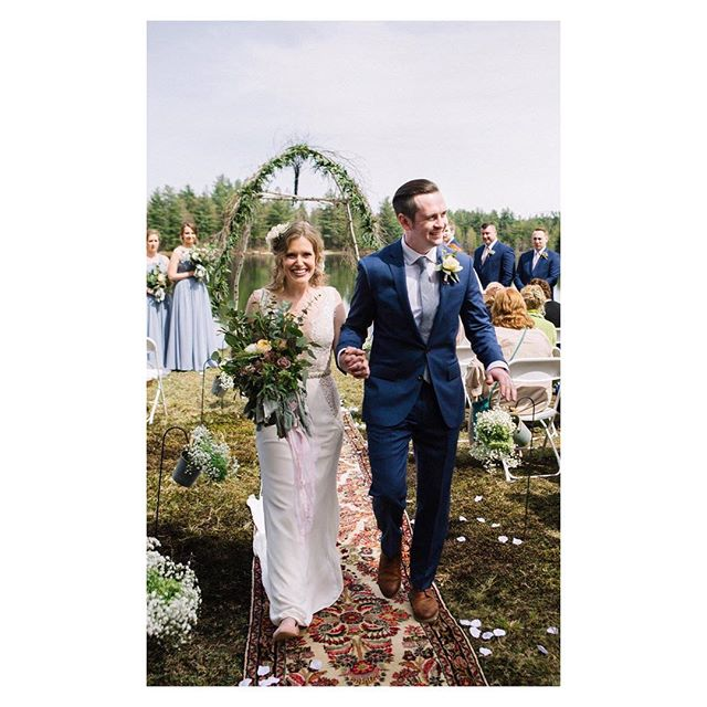 I still can't get over how gorgeous @instachelsea and @nickthestick4 wedding was. More mountain weddings please. I'm still taking dates! #mountainwedding #junebugweddings #adirondacks