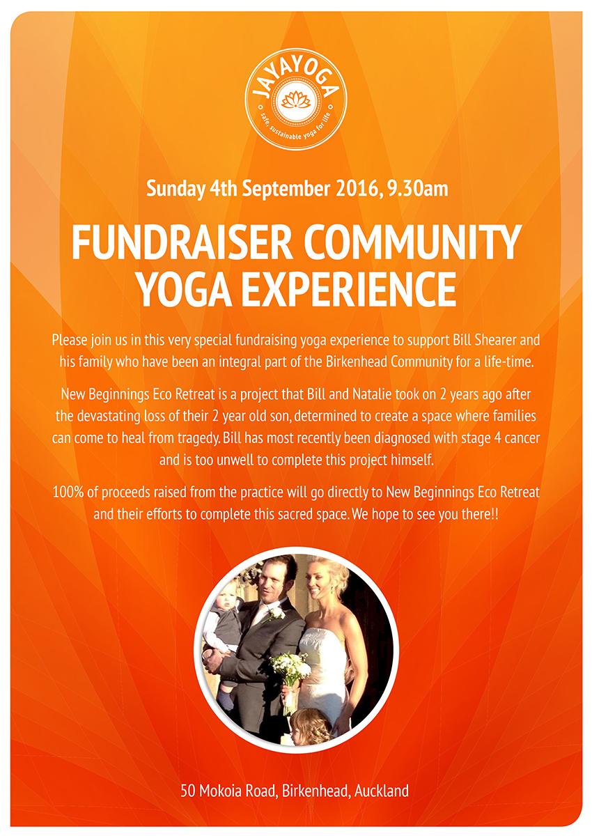 Jayayoga Fundraiser Event