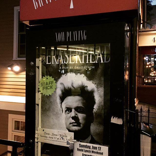 #DavidLynch weekend @brattletheatre #boston #film