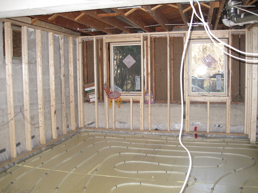 Radiant Heat, Uponor tubing