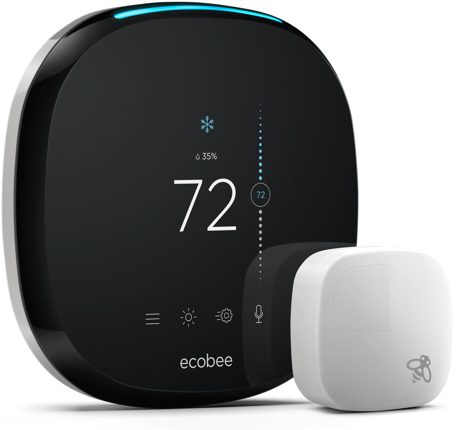 Ecobee Thermostat & Sensor -    Source