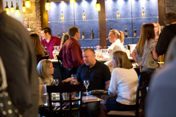 During First Thursday events in the Pearl Happy Hour  is all day long