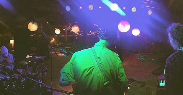 Hal's view tonite. Doors are about to open. We hit at 10. Happy and safe NYE to all.