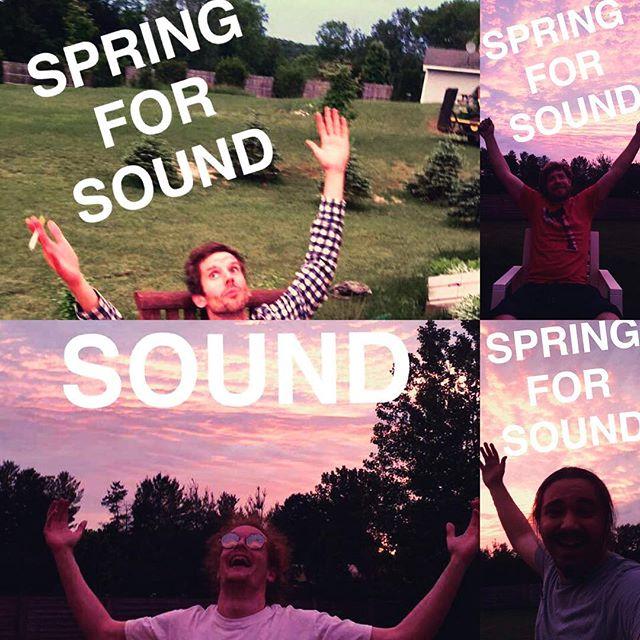 you heard about the festival?! 7:15 early bird set this year #springforsound #surfnturf #sound #springiton