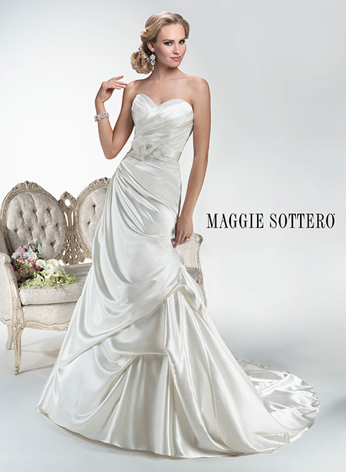 MAGGIE SOTTERO/HAILEY  SIZE 12  $617