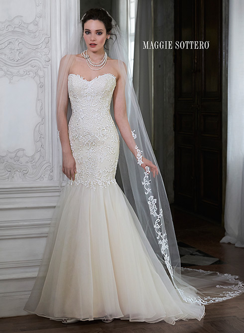 MAGGIE SOTTERO/PAULINA MARIE   SIZE 10  $629