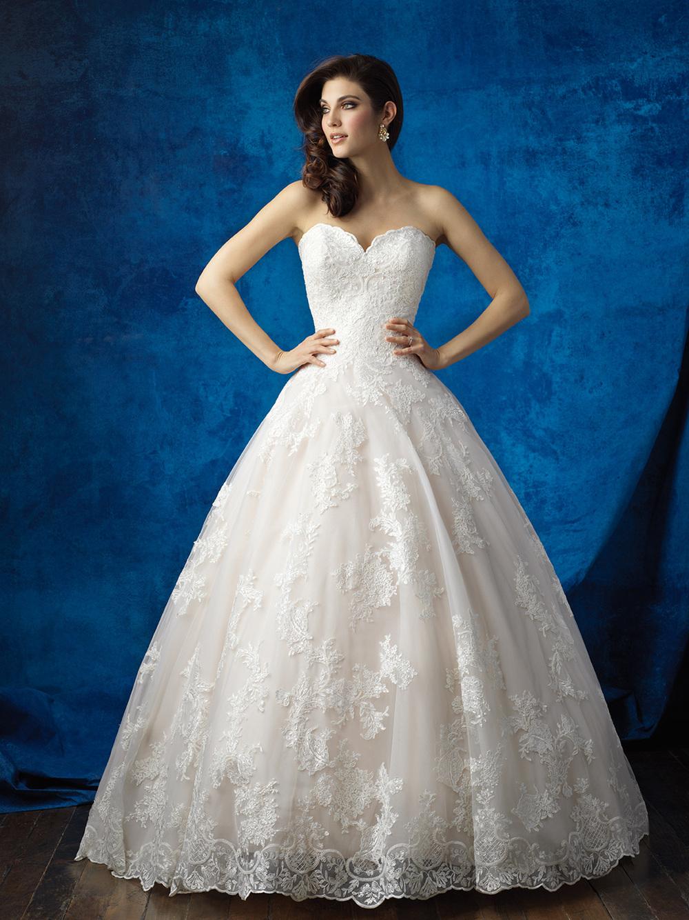 ALLURE BRIDALS/9353