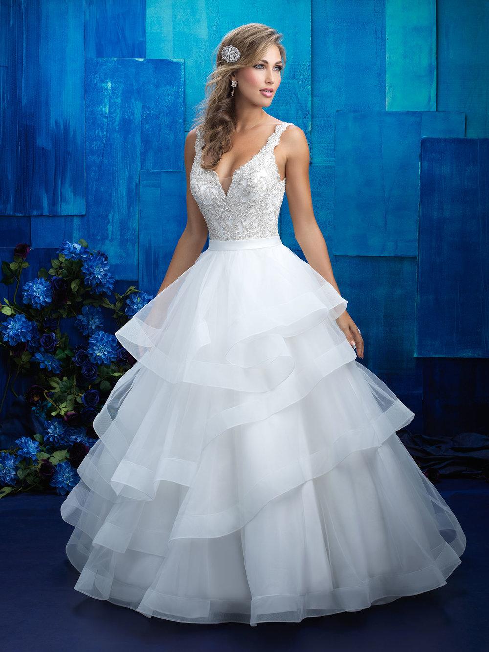 ALLURE BRIDALS/9418