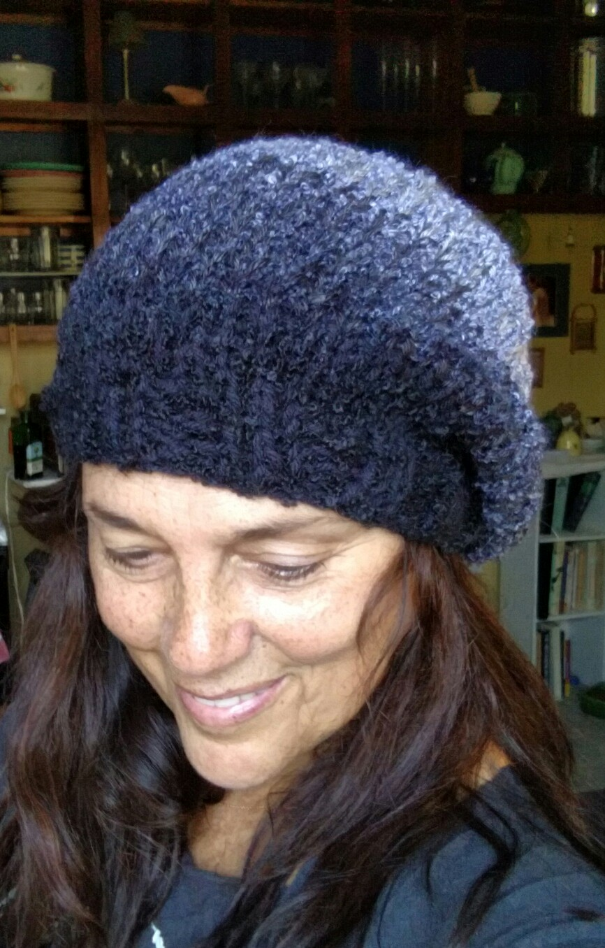 ombre cap/slouchy