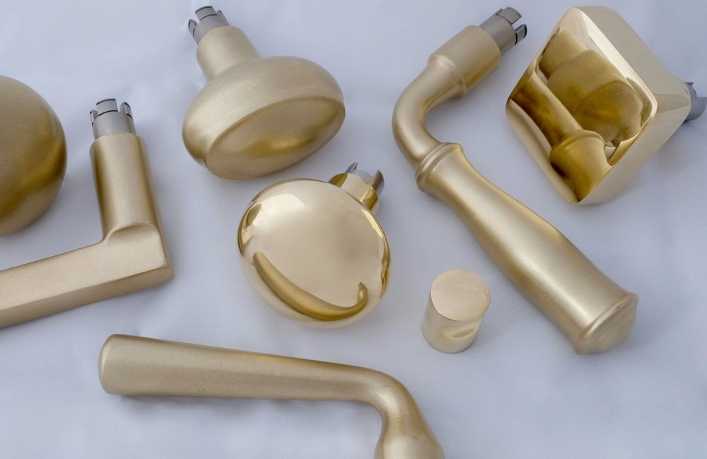 Solid Cast Brass