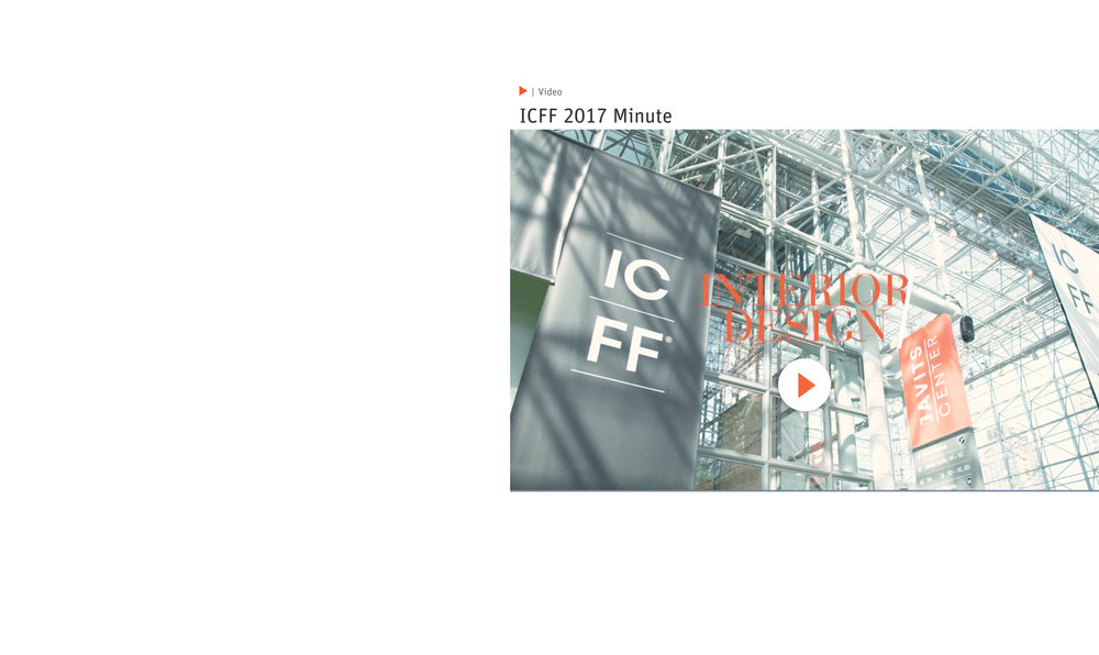 Interior Design's ICFF Product Insight