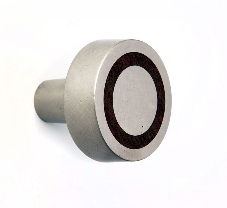 Charmant K W329 Inlay Collection. Round Flat Inlay Door Knob