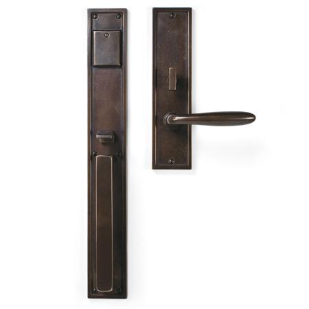 Cs 1518 Handle X Lever Mortise Lock Door Entry Set Sun Valley Bronze