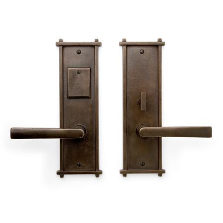 Cs 451ml Mortise Lock Door Entry Set Sun Valley Bronze
