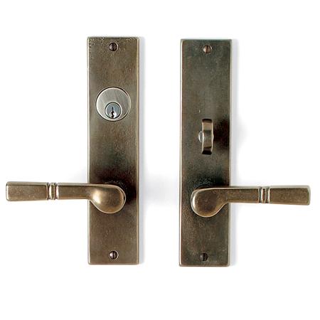 Cs 950ml Nkc Mortise Lock Door Entry Set Sun Valley Bronze