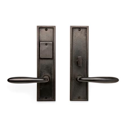 Cs 1510ml Mortise Lock Door Entry Set Sun Valley Bronze