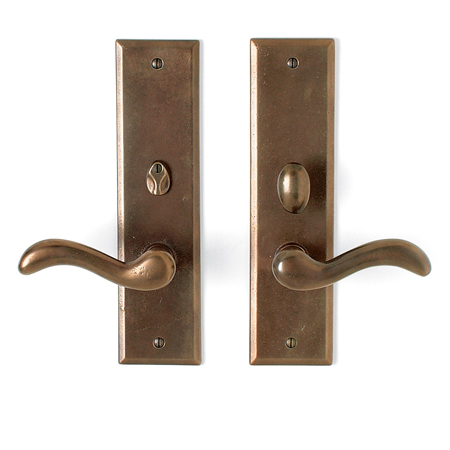 Cs 409iml Pr Interior Mortise Lock Privacy Door Set Sun Valley Bronze