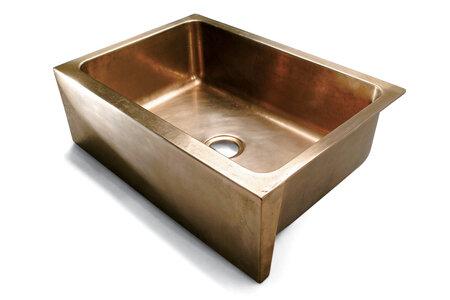 SINK-3222FRM Apron Front Farmhouse Kitchen Sink | Sun Valley Bronze