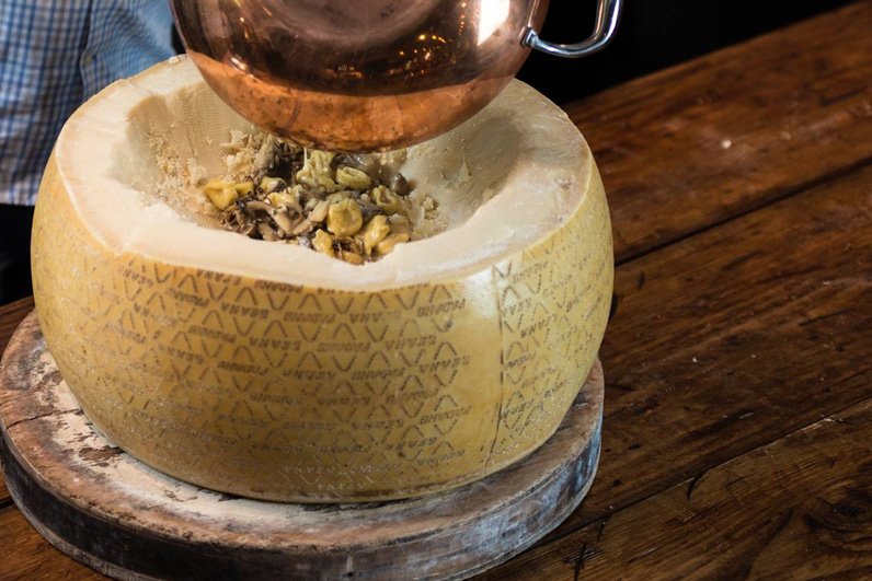 Mushroom Pasta Dalla Forma