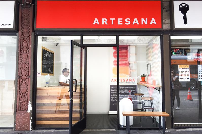 Artesana Downtown Exterior