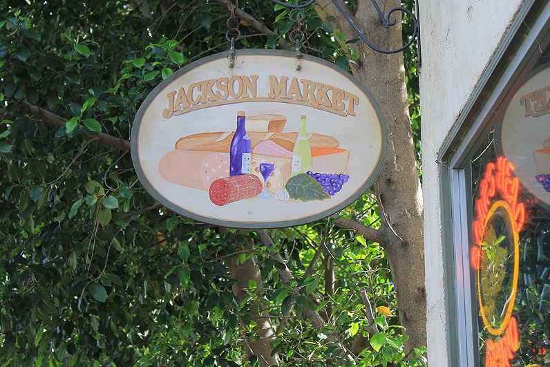 Jackson Market Sign