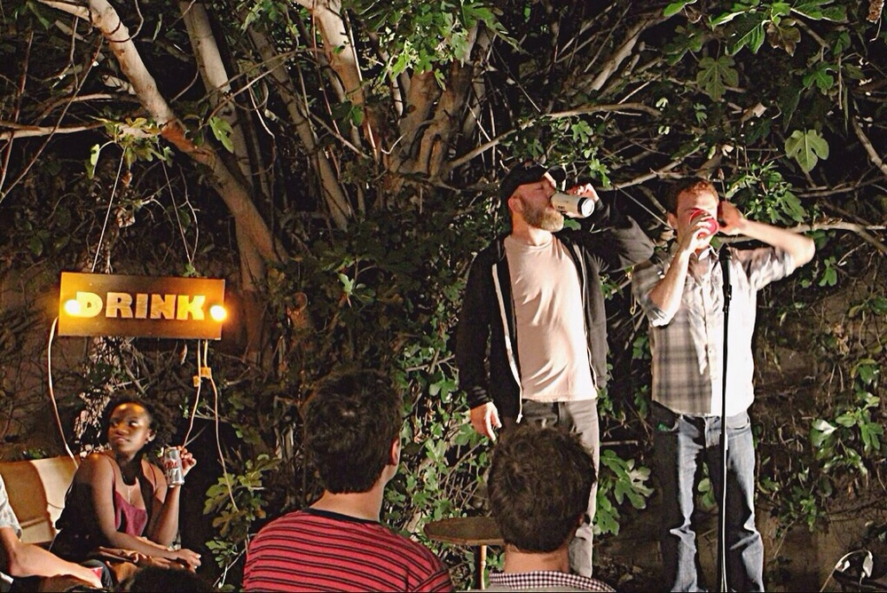 Brew Ha Ha Comedy Show Los Angeles Chug.JPG