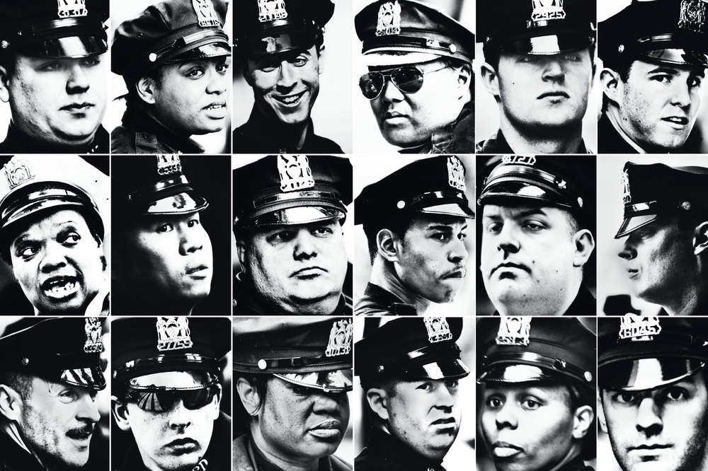 new york magazine / nypd / photographs by christopher anderson