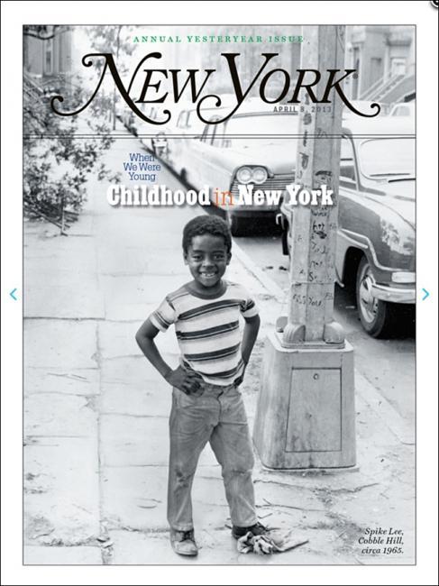 new york magazine / childhood issue / spike lee
