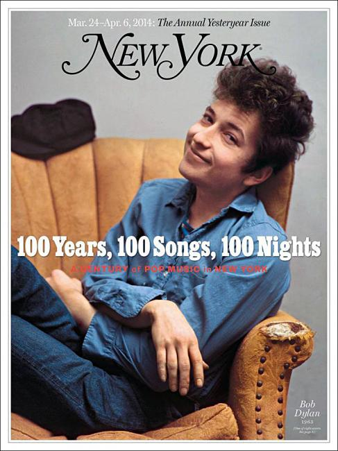 new york magazine / music issue / bob dylan in nyc