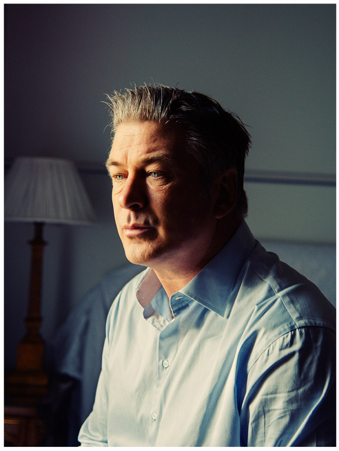 new york magazine / alec baldwin / photograph by christopher anderson