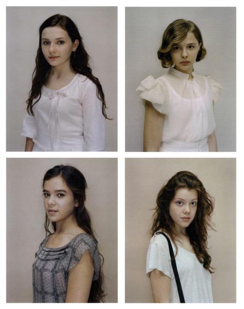 Photographs by Rineke Dijkstra for W Magazine