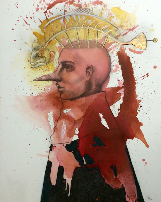 """Fish Heads'' by Angela Ales"