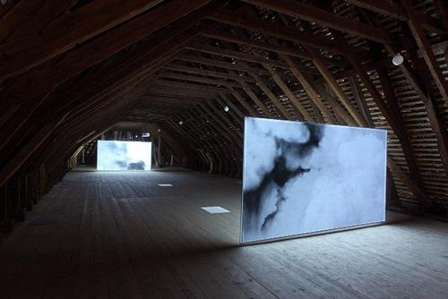 """Smoke"" by Lisa Oppenheim"