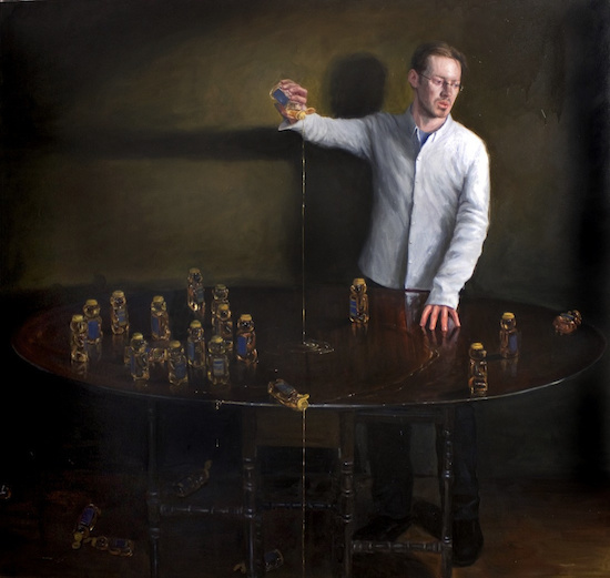 """Karl with Honeybears"""