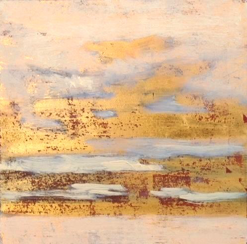 """Winter Light'' (oil on panel), by SUSAN CHARLES"