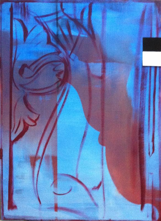 """Blue Filter,''by SUSAN ALMEIDA"