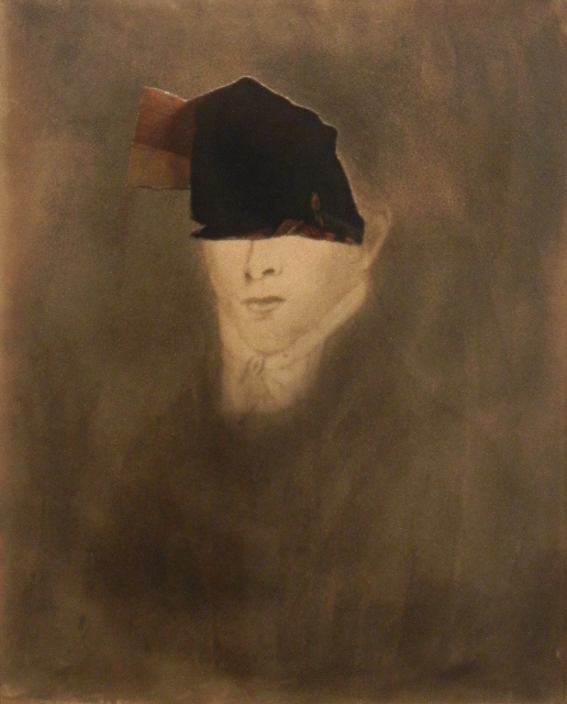 'The Minister's Black Veil,'' by Varujan Boghosian, in his show at the Berta Walker Gallery Wellfleet (Mass.) through Aug. 21.