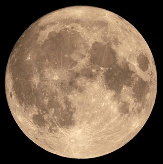 "The ""Super Moon'' on Nov. 14."