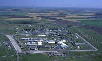 Pantex facility in the Texas Panhandle, where nuclear weapons are made and later dismantled .