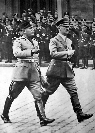 Two previous pathological liars/egomaniacs in their glory days.