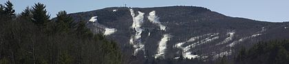 This winter picture of (mighty?) Mt. Wachusett makes it seem considerably more impressive than it actually is: only 2,006 feet high. But this monadnock (a geological term for a single mountain on a relatively flat landscape -- named after southern New Hampshire's famed Mt. Monadnock) is impressive for its neighborhood.