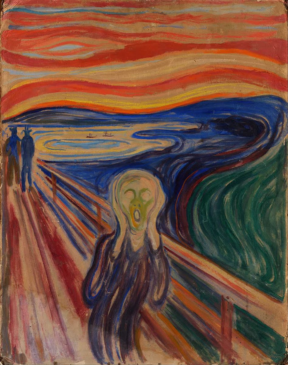 """The Scream,'' by Edvard Munch."