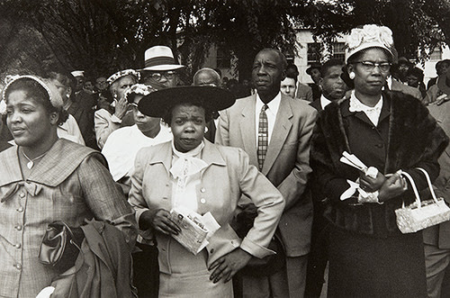 """Untitled photo by Lee Friedlander in the show """"Let Us March On: Lee Friedlander and the Prayer Pilgrimage for Freedom,'' at the Yale University Art Gallery, New Haven, through July 9."""