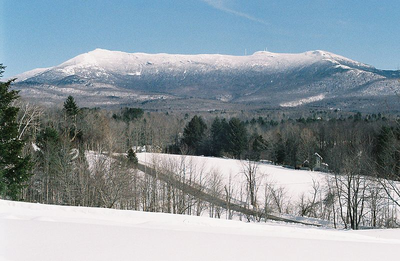 Looking toward Mt. Mansfield, the summit of Vermon t.  — Photo by K. Kemerait
