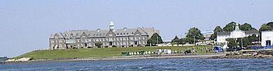 The U.S. Naval War College, in Newport.