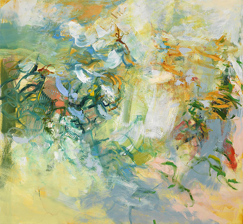 """In The Dunes'' (oil), by Kathy Soles, in the show  with Iris Osterman called ""Place and Memory,'' at Fountain Street Fine Art, Framingham, Mass., through April 2."
