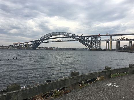 The infamous Bayonne Bridge.