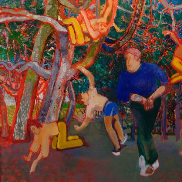 """""""Fun III'' (oil on canvas), by Robert Henry, at Hatches Harbor Room at Seashore Point, Provincetown, Mass., through June 18."""